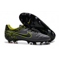 Nike Scarpe da Calcio Tiempo Legend V FG Antracide Nero Volt