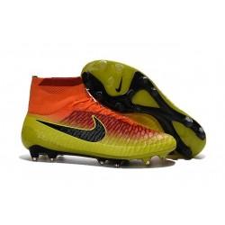 Scarpe calcio Nike Magista Obra FG - Uomo - Total Cremise Nero Agrume Acceso