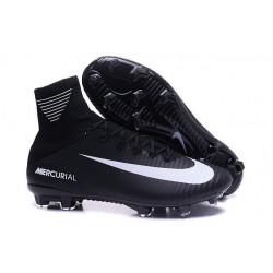 Scarpa da calcio Nike Mercurial Superfly V FG Uomo Nero Bianco