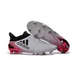 Adidas X 16+ Purechaos FG Scarpini Calcio Uomo - Bianco Nero Rosso