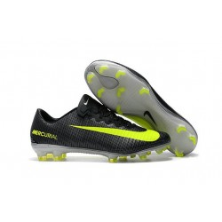 Nuovi Scarpini Calcio - Nike Mercurial Vapor 11 FG CR7 Verde Volt Hasta Bianco