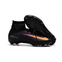 La Scarpa da Calcio Nike Jr. Mercurial Superfly V Firm Ground Noir Orange Violet