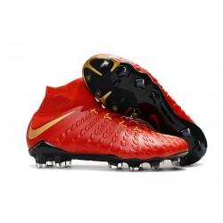 Scarpa Nike Hypervenom Phantom 3 DF FG Oro Rosso