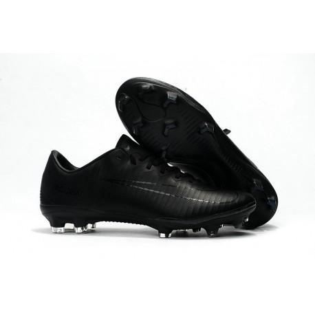 Scarpe Ronaldo Nike Mercurial Vapor 11 Tech Craft FG Uomo - Tutto Nero