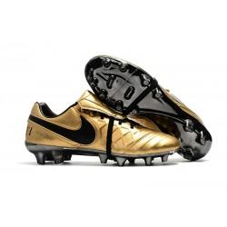 Nike Tiempo Legend 7 FG Scarpe da calcio Uomo Totti X Roma Oro Nero