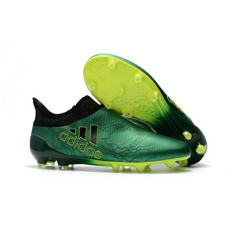 scarpe calcio adidas verdi