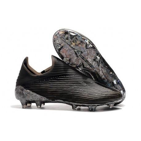 adidas X 19+ FG Nuovo Scarpa da Calcio - Nero