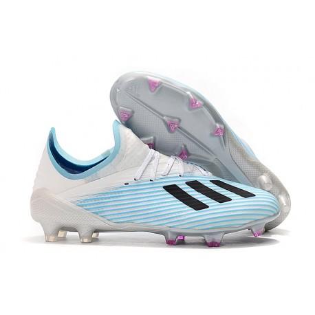 Scarpa da Calcio adidas X 19.1 FG Uomo Bianco Blu Nero