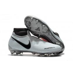 Tacchetti da Calcio Nike Phantom VSN Elite DF FG Grigio Rosso