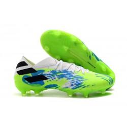 adidas Scarpe da Calcio Nemeziz 19.1 FG - Bianco Verde Blu