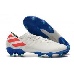 adidas Scarpe da Calcio Nemeziz 19.1 FG - Bianco Rosso Blu