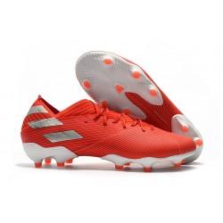 adidas Scarpe da Calcio Nemeziz 19.1 FG - Rosso Argento