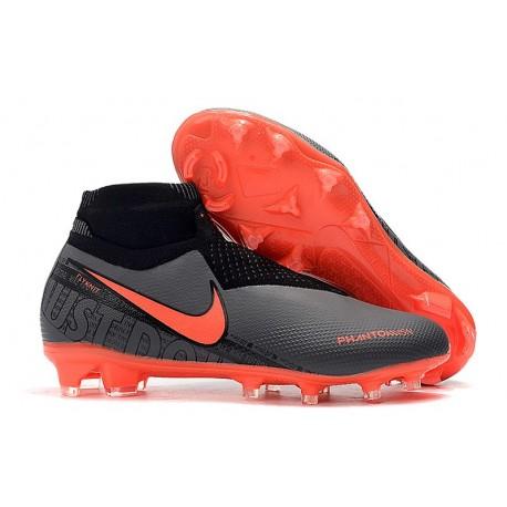 Nike Phantom Vision Elite Dynamic Fit FG Nero Rosso