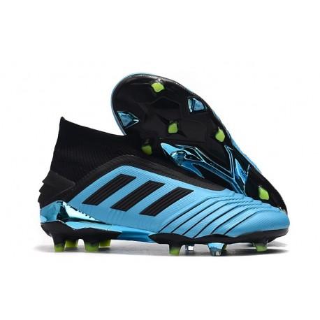 adidas Predator 19+ FG Scarpe da Calcio Blu Nero