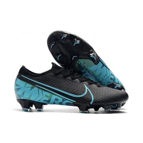 Nike Mercurial Vapor 13 Elite FG Scarpe - Nero Blu