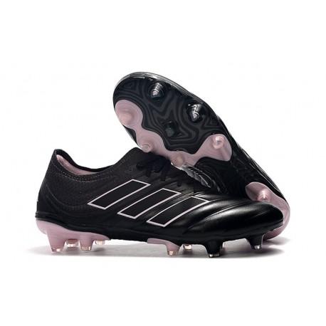 Scarpe Per Gli Uomini Adidas Copa 19.1 FG Nero Rosa