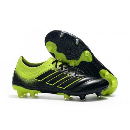 Nuovo Tacchetti da Calcio Adidas Copa 19.1 FG Nero Verde