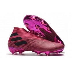 Scarpe da Calcio adidas Nemeziz 19+ FG Rosa Nero