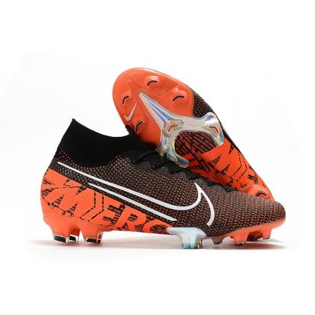 Scarpa Calcio Nike Mercurial Superfly 7 Elite FG -Nero Bianco Cremisi Hyper