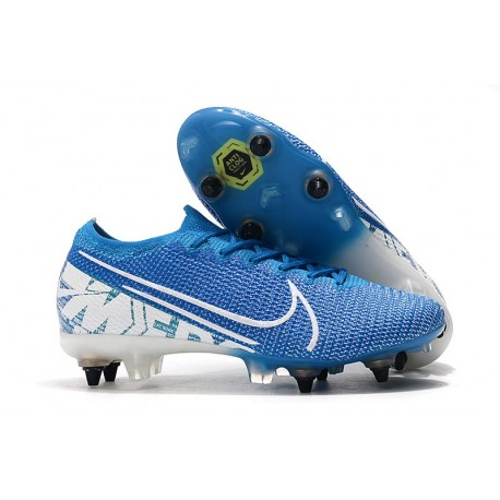 Nike Mercurial Vapor 13 Elite SG-Pro AC New Lights Blu Bianco