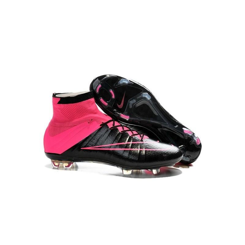 Superfly Rosa Calcio Uomo 2015 Nike Pelle Nero Mercurial Fg Scarpe x8aqvI