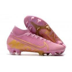 Scarpa Calcio Nike Mercurial Superfly 7 Elite FG - Rosa Oro