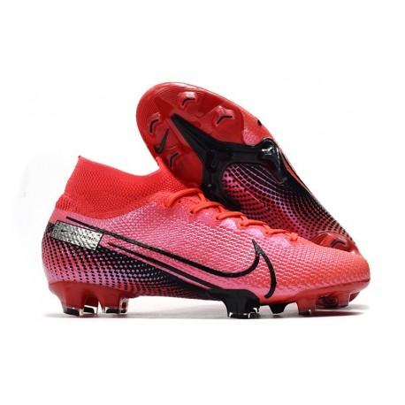 Scarpa Calcio Nike Mercurial Superfly 7 Elite FG -Cremisi Laser Nero