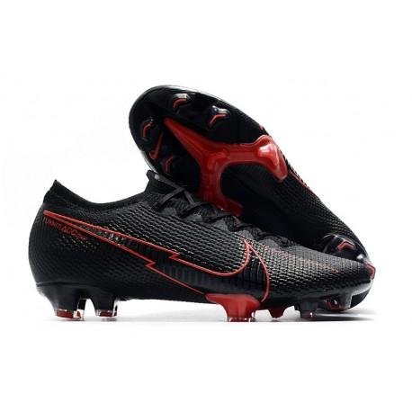 Nike Scarpe da Calcio Mercurial Vapor 13 Elite FG ACC Nero Rosso
