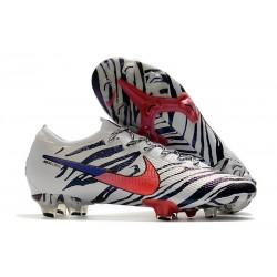 Nike Scarpe da Calcio Korea Mercurial Vapor 13 Elite FG ACC Bianco Nero Rosso
