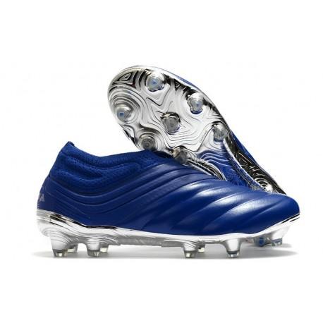 Scarpe da Calcio adidas Copa 20+ FG Blu Team Royal Argento