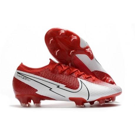 Nike Mercurial Vapor XIII Elite FG 2020 Rosso Bianco
