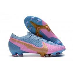 Scarpe Nike Mercurial Vapor 13 Elite FG Blu Rosa Oro