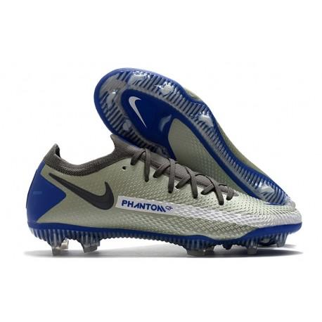 Scarpe Nike Phantom GT Elite FG Grigio Nero Blu