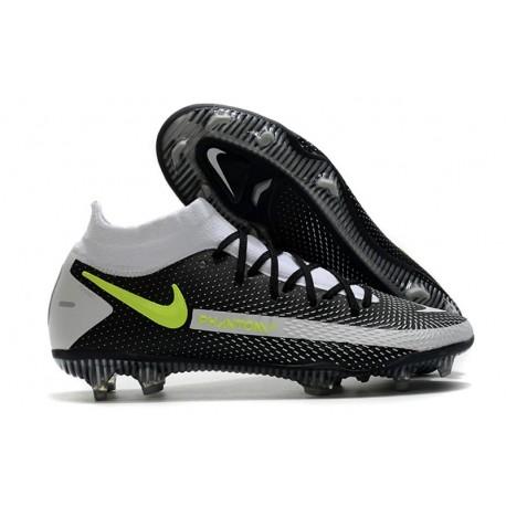 Nike Phantom GT Elite Dynamic Fit FG scarpa da calcio uomo Nero Grigio Verde