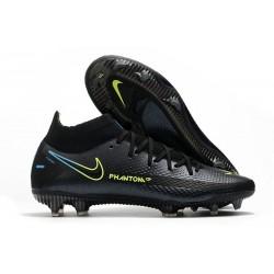 Nuovo Scarpe Nike Phantom GT Elite DF FG Nero Giallo