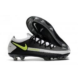 Nike Nuovo Scarpa Calcio Phantom GT Elite FG Nero Grigio
