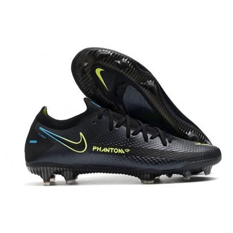 Nike Phantom GT Elite FG Scarpe da Calcio Nero Verde
