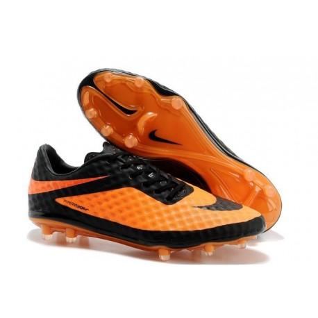 Nike HyperVenom Phantom FG Scarpa da calcio per terreni duri - Uomo Arancione Nero