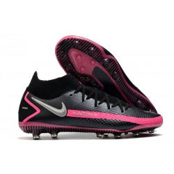 Nike Phantom GT Elite Dynamic Fit AG-PRO Nero Argento Rosa Blast