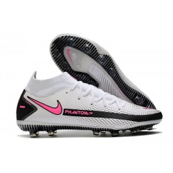 Nike Phantom GT Elite Dynamic Fit AG-PRO Bianco Rosa Blast Nero