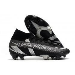 Nike 2021 Mercurial Superfly VII Elite DF FG Future Nero Argento