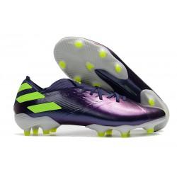 adidas Scarpe da Calcio Nemeziz 19.1 FG - Viola Verde