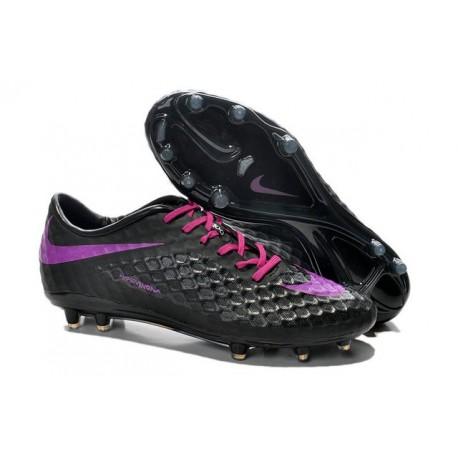 Scarpa da calcio Nike HyperVenom Phantom FG Uomo Nero Viola