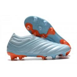 Scarpe da Calcio adidas Copa 20+ FG Cielo Blu Team Royal Corallo Signal