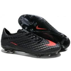 Nike HyperVenom Phantom FG Scarpa da calcio per terreni duri - Uomo Nero Arancione