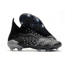 Scarpa da Calcio adidas Predator Freak+ FG Nero Core Grigio Bianco