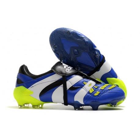 adidas Predator Accelerator FG Blu Bianco Giallo