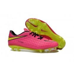 Nike HyperVenom Phantom FG Scarpa da calcio per terreni duri - Uomo Rosa Giallo Nero