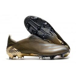 Scarpe adidas X Ghosted + FG Uomo Marrone