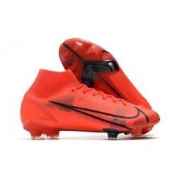 Nike Mercurial Superfly 8 Elite FG Scarpe Rosso Nero